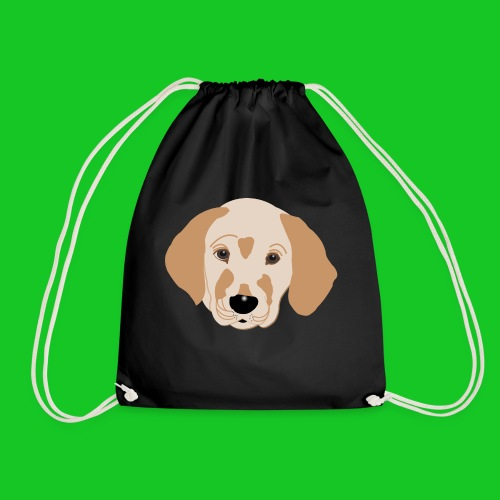 Golden Retriever, hond, hondje, puppie, dog, puppy - Gymtas