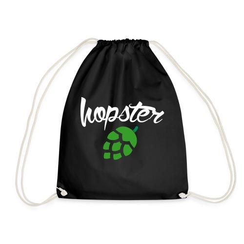Hopster (Biertrinker) - Turnbeutel
