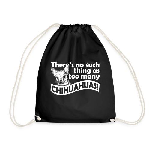 Chihuahua ontwerp - Gymtas