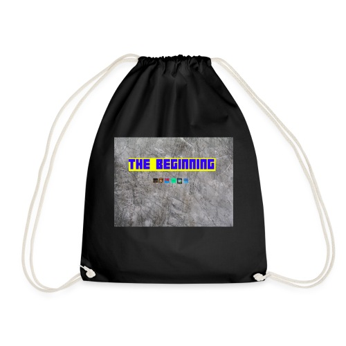 The Beginning - Drawstring Bag