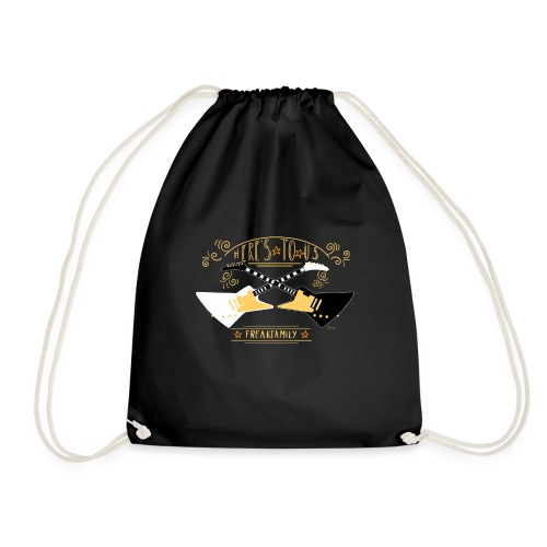 Here s to us Version 1 - Drawstring Bag