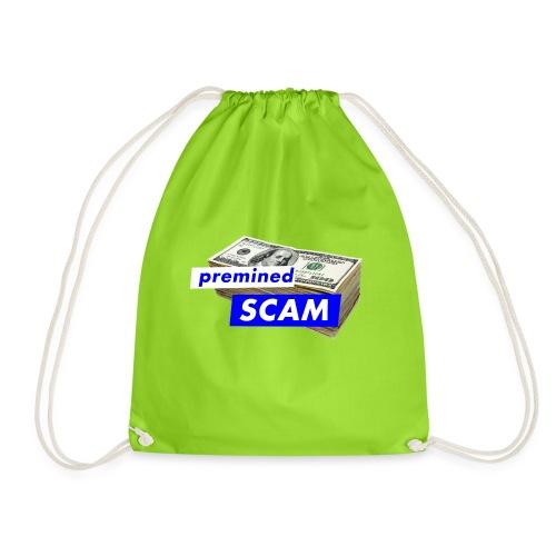 premined SCAM - Drawstring Bag