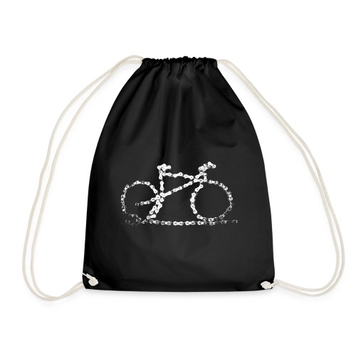 bike3_large - Drawstring Bag