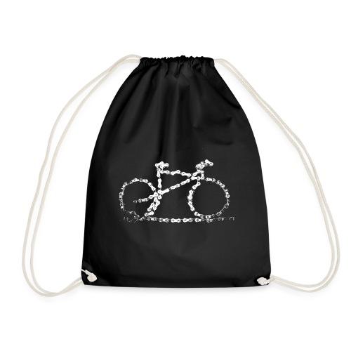bike3_large - Drawstring Bag