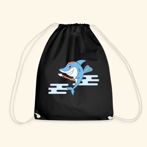 The Shark bodyguard - Drawstring Bag