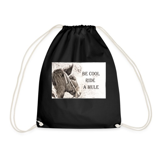 Be Cool Ride A Mule - Turnbeutel