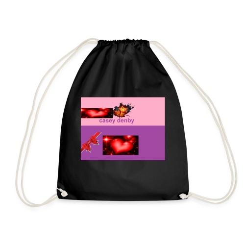 casey merch - Drawstring Bag