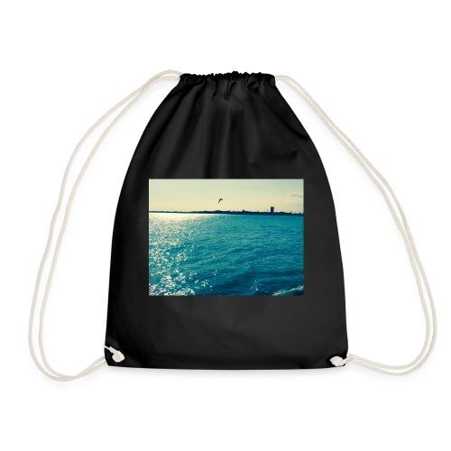 ocean life - Drawstring Bag