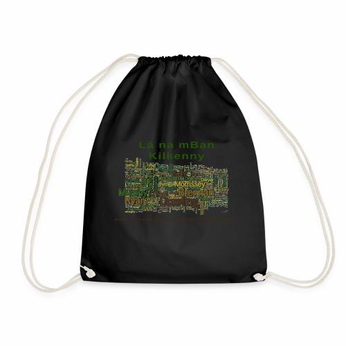 Lá na mban Kilkenny Wordle - Drawstring Bag
