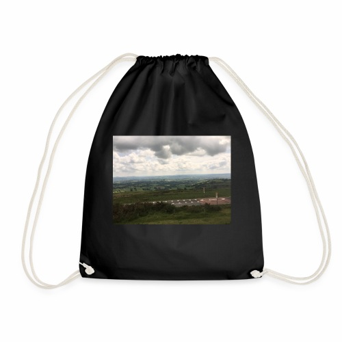 IMG 0310 View from Ludlow - Drawstring Bag