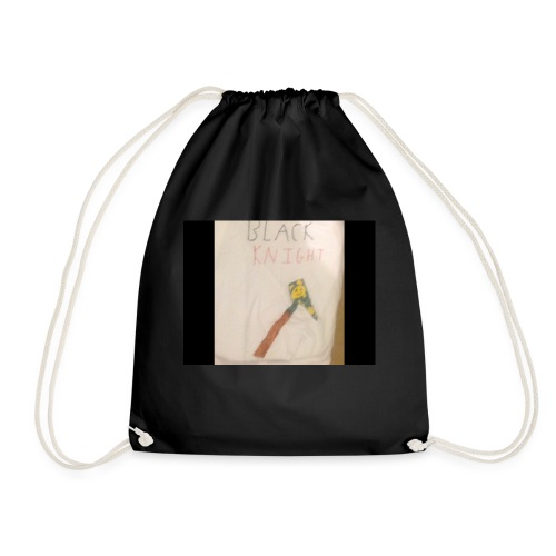 Black knight - Drawstring Bag