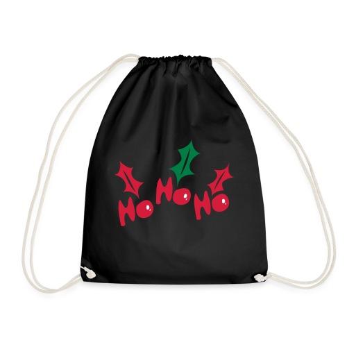ho_ho_hoholy_leaves - Drawstring Bag