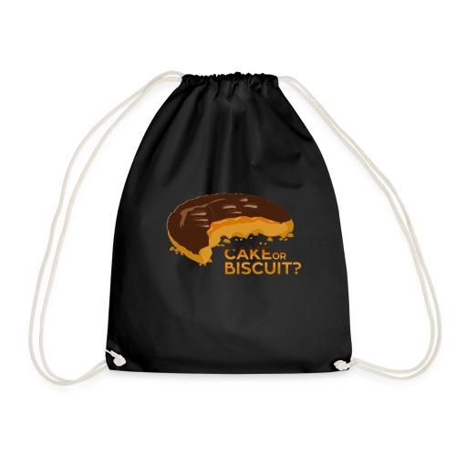 Cake or Biscuit - Drawstring Bag