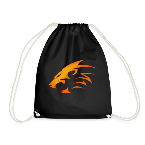 Rian The Lion Orange Logo - Gymnastikpåse