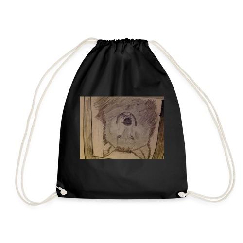 Wolf hoodie etc - Drawstring Bag