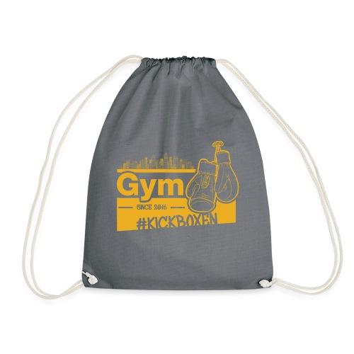 Gym Druckfarbe Orange - Turnbeutel