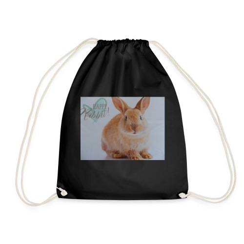 Happy Rabbit! - Turnbeutel