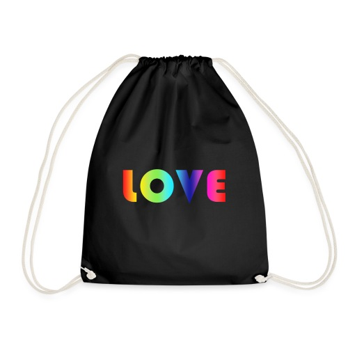Rainbow Love - Gymtas