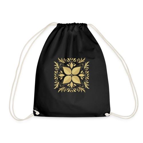 Golden Flower - Mochila saco