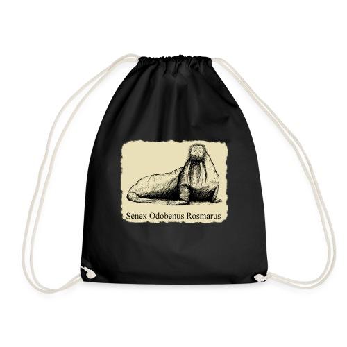 The Old Walrus - Drawstring Bag