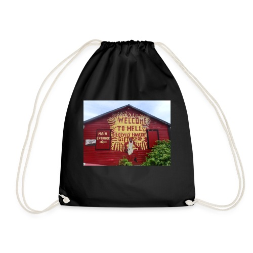Welcome to hell - Drawstring Bag