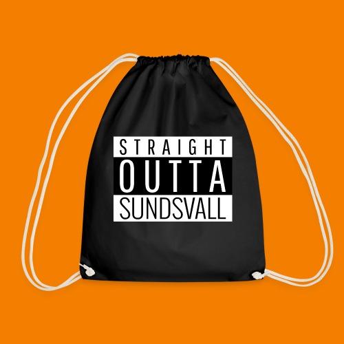 Straight outta Sundsvall - Gymnastikpåse