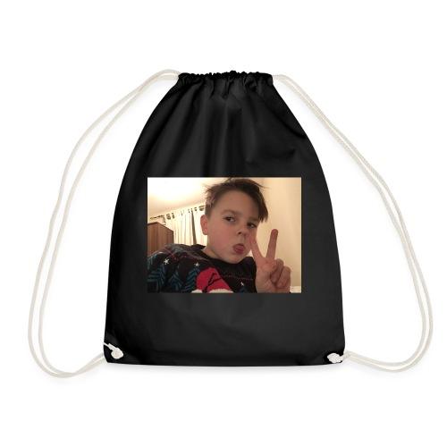 Oscar Frawley upsidedown - Drawstring Bag