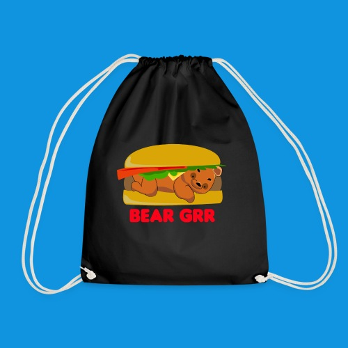 Bear Grr - Drawstring Bag