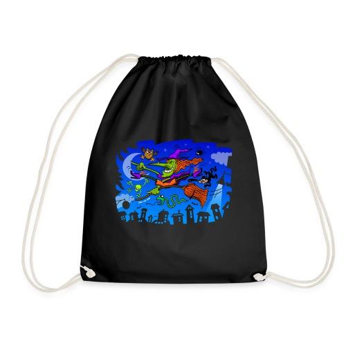 Crazy Witch - Drawstring Bag