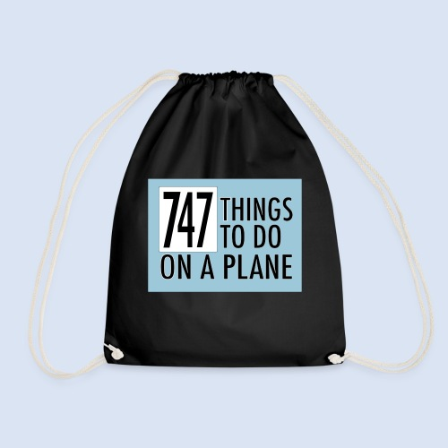 747 THINGS TO DO... - Turnbeutel