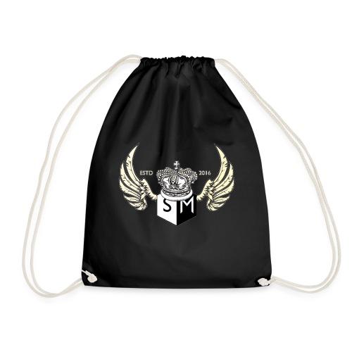 Supplemental sports wings logo design. - Drawstring Bag