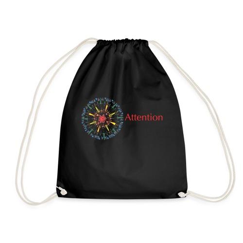 Attention - Drawstring Bag