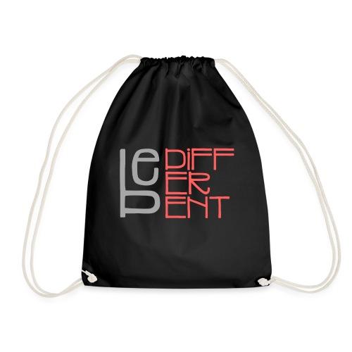 Be different - Fun Spruch Statement Sprüche Design - Drawstring Bag