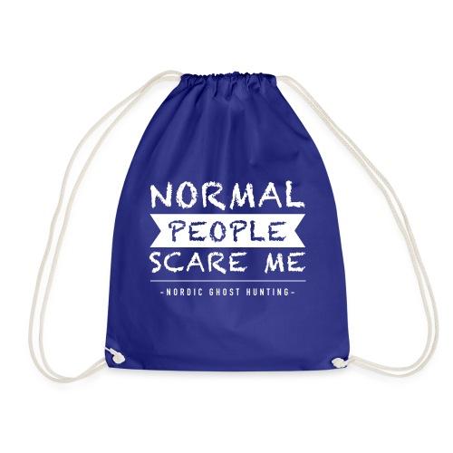 Normal people scare me - Gymnastikpåse