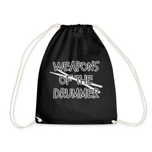 Schlagzeug Drummer Drumset Sticks Shirt Geschenk - Turnbeutel
