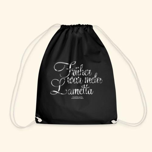 Früher war mehr Lametta T Shirt Design - Turnbeutel