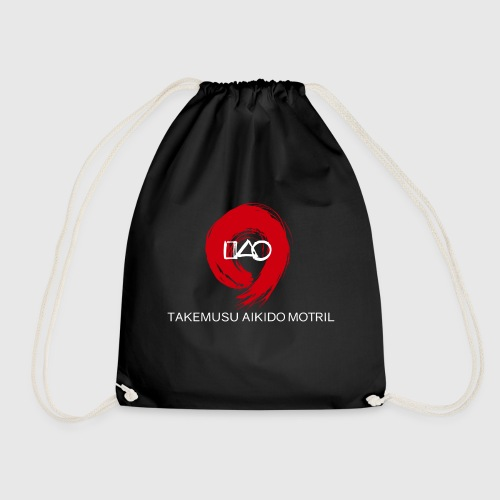 Takemusu Aikido Motril - Red Enso - Drawstring Bag
