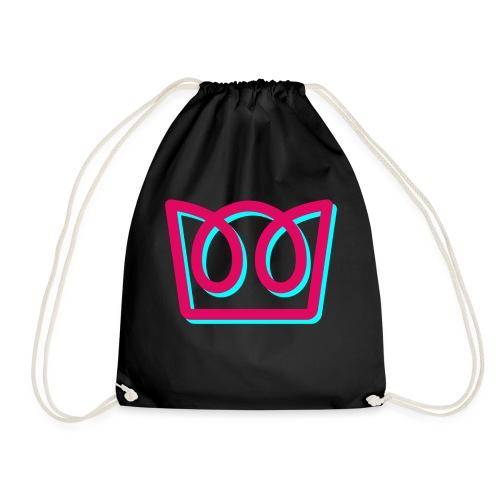 Neon Crown - Drawstring Bag