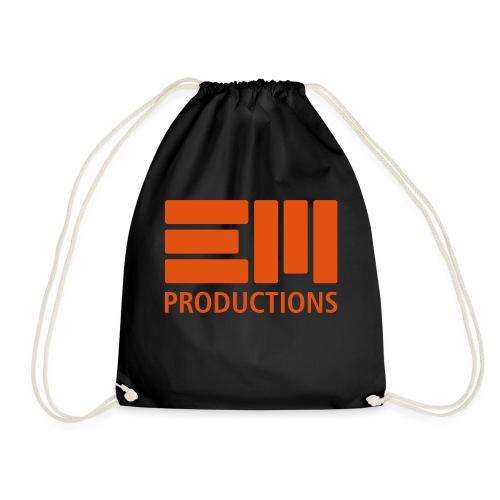 EM Productions Logo 2016 - Turnbeutel