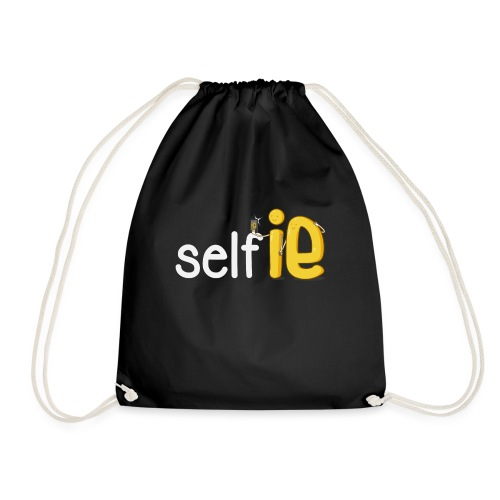 SELF-SELFIE - Drawstring Bag