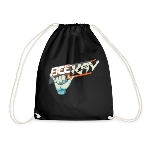 B K T Shirt Transparant 3000x2139 png - Drawstring Bag