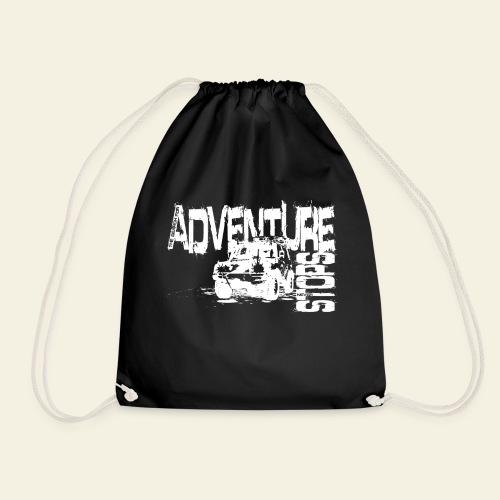 Adventure white - Sportstaske