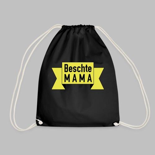Beschte Mama - Auf Spruchband - Turnbeutel