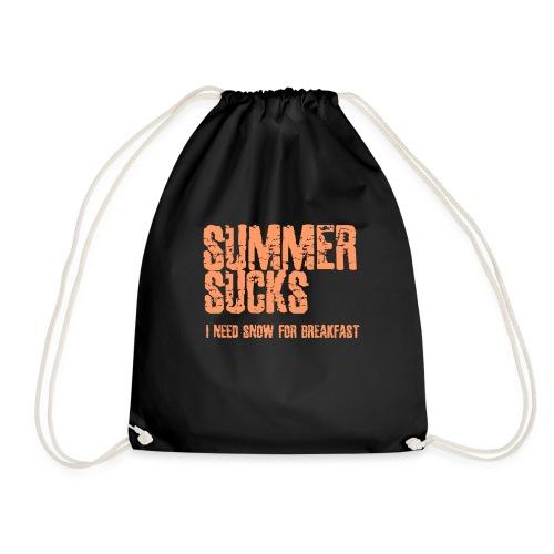 SUMMER SUCKS - Gymtas