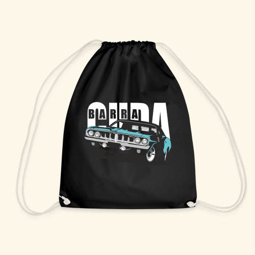 Blue Cuda - Drawstring Bag