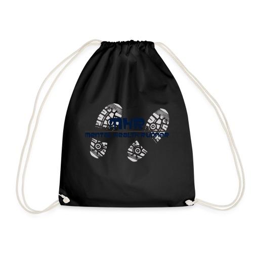 Mentalhealthrunner logo - Drawstring Bag