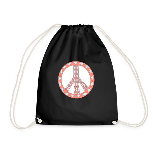Pinky peaceful violence-0 - Drawstring Bag
