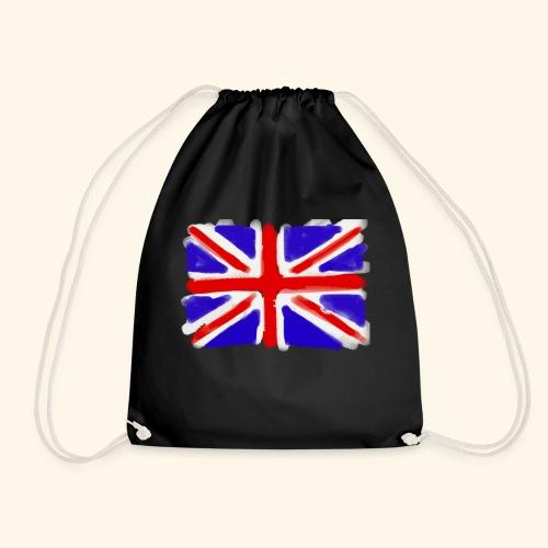 British flag in watercolours - Gymnastikpåse