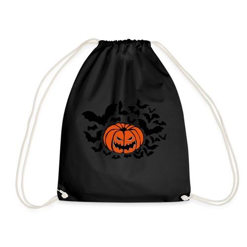 Pumpkin Bats - Drawstring Bag
