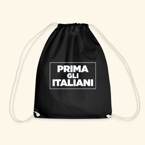 Prima gli italiani - Sacca sportiva